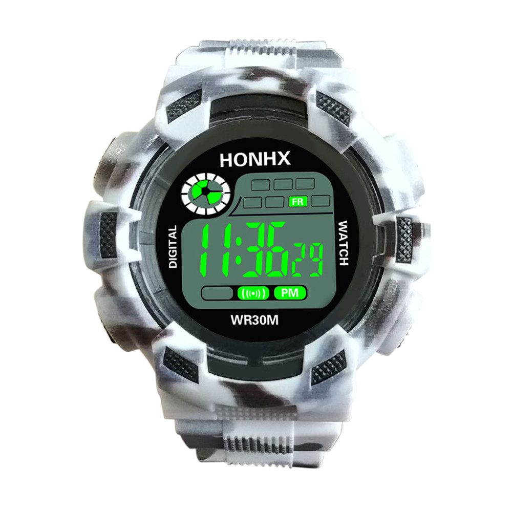Herrenuhren Herrlich Camouflage Military Armee Männer Digitale Uhr G Stil Led Display Luxus Shock Sport Uhren Männlichen Elektronische Armbanduhren Hot #5/22 Herausragende Eigenschaften