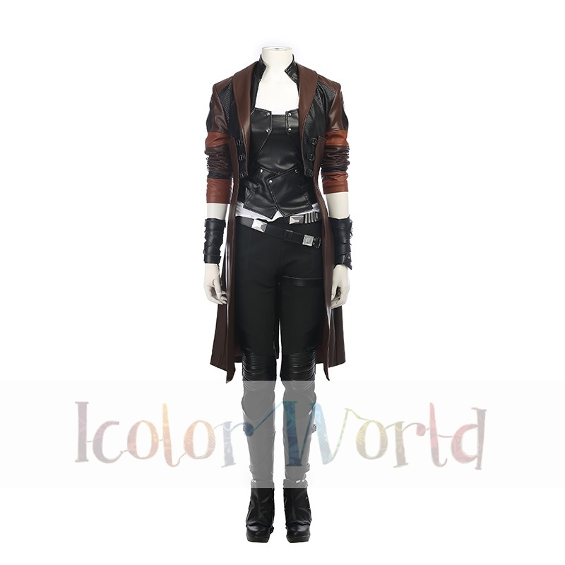 Guardians of the Galaxy Vol. 2 Gamora Cosplay Costume01