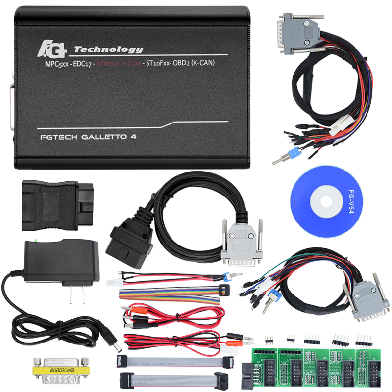 Super Quality A+ NO limited BDM FULL function add V54 FG Tech Galletto 2 Master FG Tech V54 2-Master BDM-TriCore-OBD ...