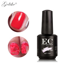 Gelike  10ml Magic Nail Gel Polish Burst Remover Soak Off gel polish Cleaner Lint Free Wipes Nail Supplies for Professionals