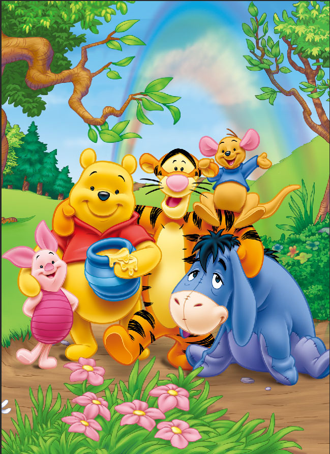 Winnie The Pooh Forest Background: Online Buy Wholesale Winnie The Pooh Backdrop From China