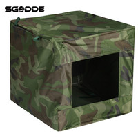 Hot Sale 40x40cm Foldable PVC Target Box Recycle Ammo Bow Arrow Portable Hunting Case Holder For