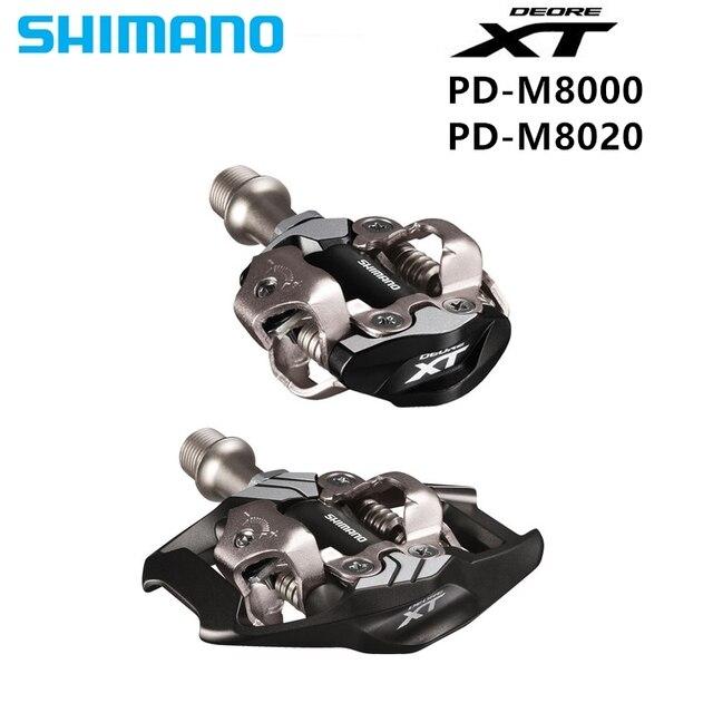 Shimano XT PD M8000 M8020 Pedais Da Bicicleta Auto-Bloqueio Pedais SPD MTB Componentes Usando para Bicicleta de Corrida de Bicicleta de Montanha partes 2