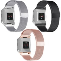 Replacement Band For Fitbit Ionic Magnetic Milanese Loop Metal Band Smart Bracelet For Ionic