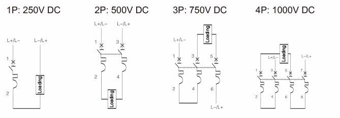 20a 250 vdc 1p dc din rail miniature circuit breaker non polarized rh aliexpress com Residential Electrical Wiring Diagrams Wiring Diagram Symbols