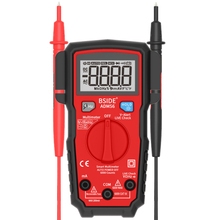 BSIDE Smart Digital Multimeter Auto Range 6000 Counts DC/AC Voltage Tester DMM Automatic ohm Hz V-Alert Test недорого