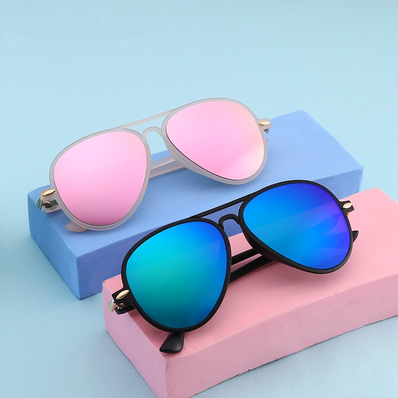 KOTTDO Fashion 2018 Baby Kids Sunglasses Boys Girls Children Sunglasses Uv400 Oculos De Sol Feminino(China)