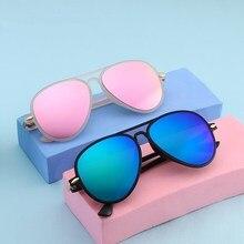 KOTTDO Мода детские солнцезащитные очки для мальчиков и девочек детские солнцезащитные очки Uv400 Oculos De Sol Feminino