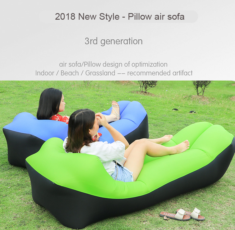 Miraculous Ultralight Fast Inflatable Air Sofa Lounge Chair Camping Mattress Pabps2019 Chair Design Images Pabps2019Com