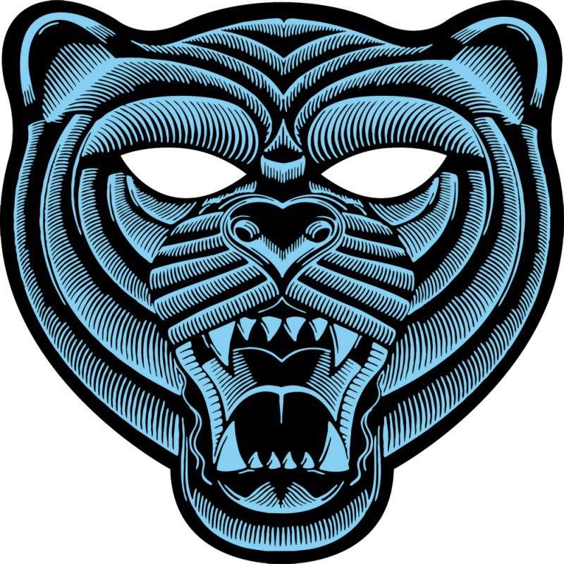 Volledige Gezicht Partij Maskers LED Lichtgevende Knipperende Voice Control Geluid Perfect Voor Halloween Muziek Festivals Maskers