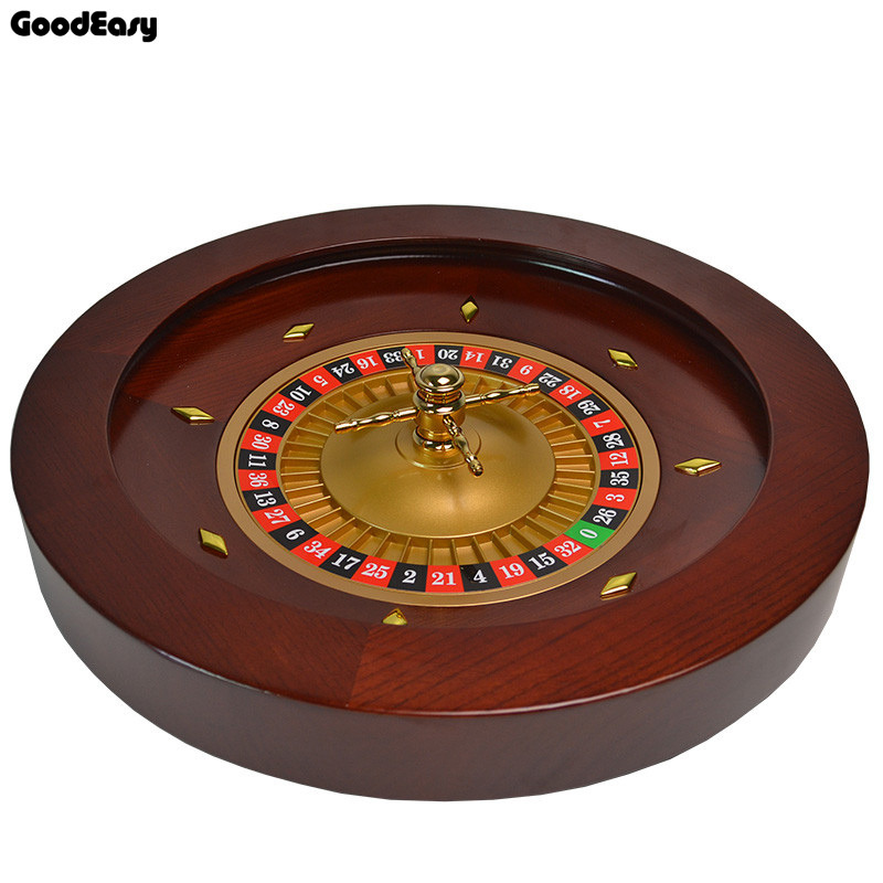 Free Shipping High Quality Casino Wooden Roulette Wheel Bingo Game Entertainment Party G ...