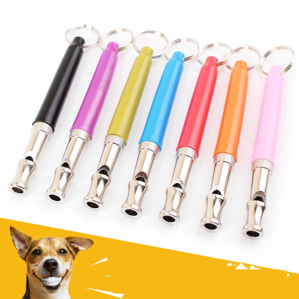 High Quality Dog Accessories UltraSonic Supersonic Sound Pitch Silent Dog Pet Puppy Command Training Whistle For Dogs