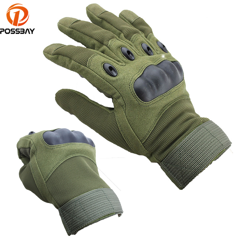 Motorcycle Gloves Cycling Outdoor Full Finger Motorcycle Bike Protective Leather Gloves gym Winter for Men Women Gant Moto Luvas