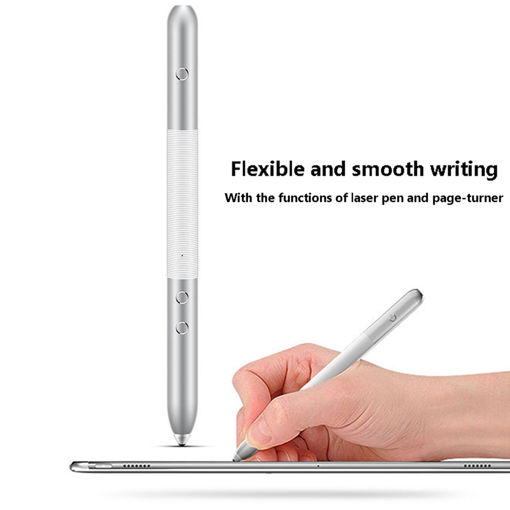 Stylus Laser Pen for Huawei MateBook MateBook E Hand Writing Touch Control AF61 Pen Silver Stylus
