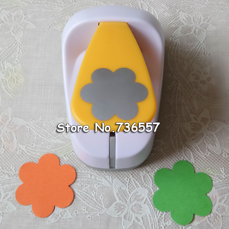 5.0cm 3.8cm 2.5cm Flower Shape Craft Punch Set Scrapbooking School Paper Puncher Eva Hole Punch Free Shipping 6 Petal Cutter