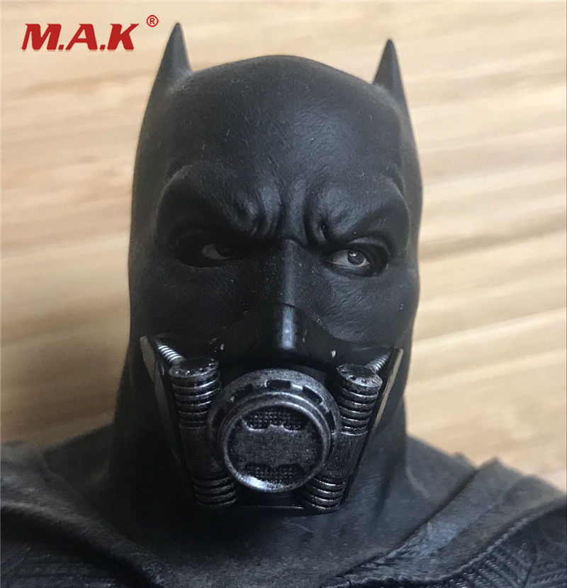 1:6 Scale Batman Suicide Squad Respirator Accessories Black Color for 12 inches Action Figure the squad black op