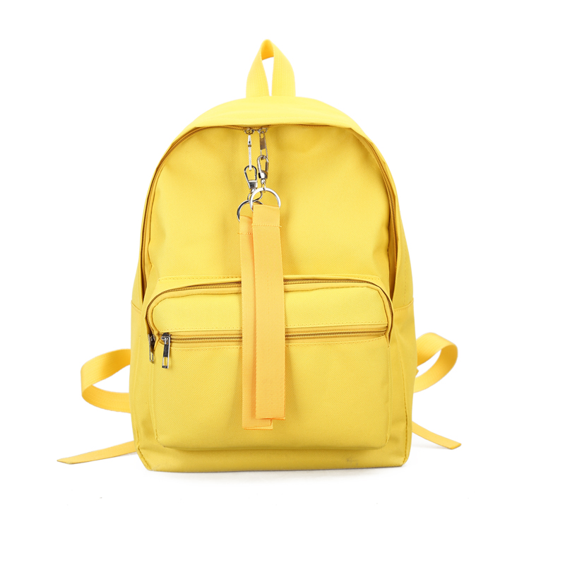 Detail Feedback Questions about 2018 Brand Female 15 Inches Laptop Bookbag  Mochila Canvas Waterproof Women Yellow Backpacks Teenager Girl Candy Color  Travel ... 898ec96ecc