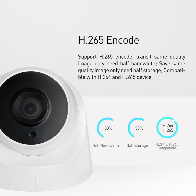 POE H 265 3MP 1296P 1080P HD IP Camera LED IR Night Vision Dome Security Indoor P2P CCTV System Video Surveillance Cam System in Surveillance Cameras from Security Protection