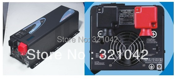 купить Low Frequency Pure Sine Wave Solar Priority Inverter 6000W DC48V TO AC220V surge power 18000W 18KW по цене 72999.87 рублей