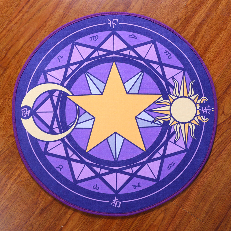 Cardcaptor Sakura Magic Circle Carpet Floor Mat The