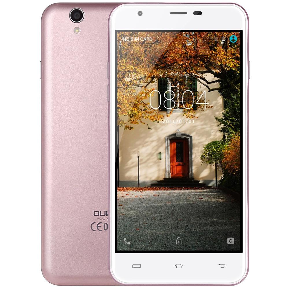 Original Oukitel U7 MAX 5 5 Inch font b Smartphone b font HD Screen MTK6580A Quad