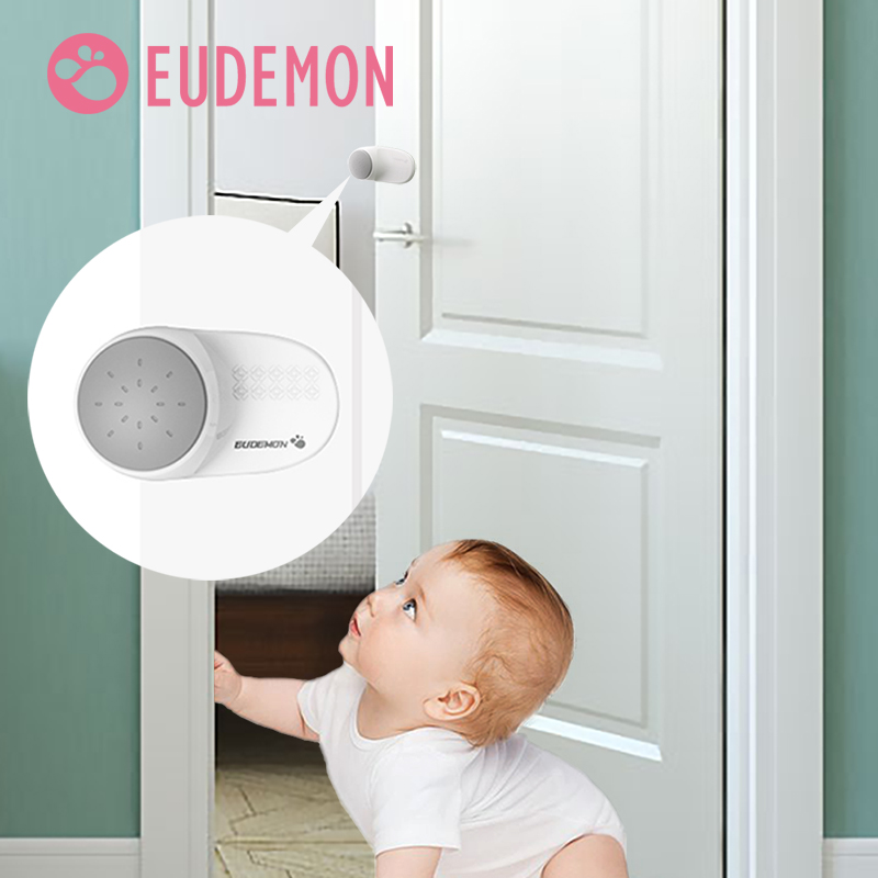 EUDEMON 2pcs/lot Rotating Door Stoppers Baby Safety Finger Pinch Guard Prevent Door Injuries For Kids Or Pets