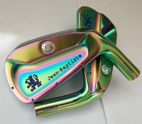 Playwell 2017 Jean Baptiste Aaron finished golf iron head forged carbon steel CNC iron driver wood iron putter