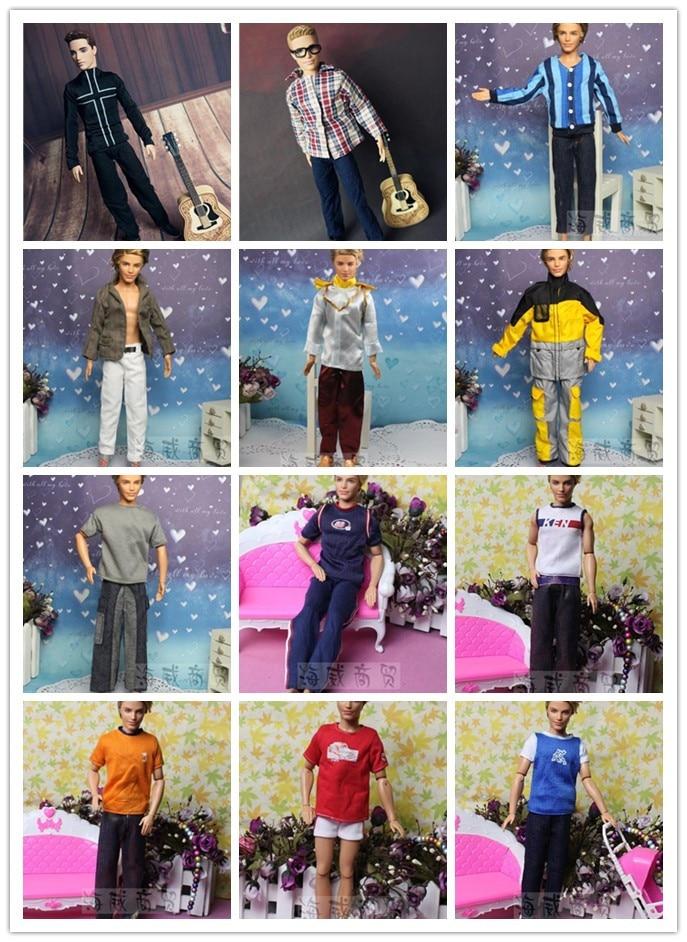 5 kompleta odjeće za Barbie dečko Lutke 1/6 ken lijepo dječje - Lutke i pribor - Foto 2