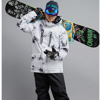 Gsou Snow Snowboard Jacket Men S Winter Windproof 35 Warm Outdoor Tops High Quality Ski Tops