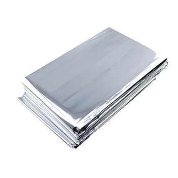 Wholesale 300pcs/lot Waterproof outdoor Emergency Survival Foil Thermal First Aid Rescue Blanket