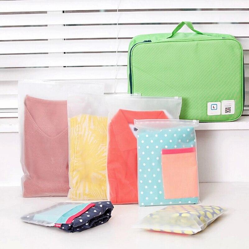 ... 2017 Bra/Underwear Clothing Bag Closet Organizer Sealed Waterproof  Travel Makeup Organizer Clothes Shoes Bag