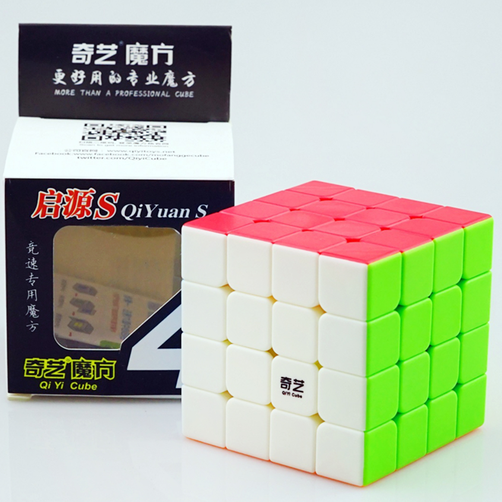 QiYi 4*4 Professional 4x4x4 Speed Magic Cubes Cube Toys for Kids 4 Layers QiYuan S Games and Puzzles 6.2CM Cubo Megico