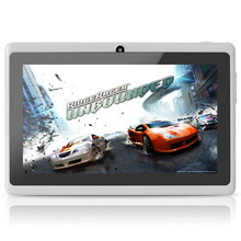 Yuntab Q88 7 Inch Wifi White Color Tablet Android4 4 Quad Core 8G ROM 512M RAM