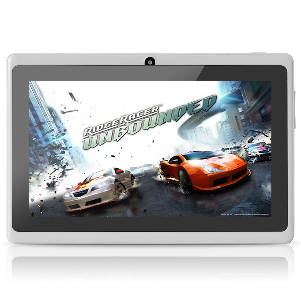 Yuntab Q88 7 Inch Wifi White Color Tablet Android4 4 Quad Core 8G ROM 512M font