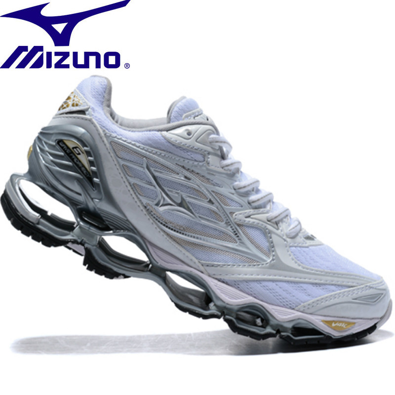 MIZUNO WAVE Prophecy 6 professional Men Shoes sneakers running shoes Outdoor Breathable Mesh Weightlifting Shoes Size