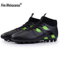 spike soccer football shoes high ankle men crampon football boots superfly original cleats futzalki football sneakers