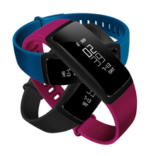 V07 Спорт Умные браслеты с Фитнес сна артериального давления сердечного ритма Мониторы Поддержка Bluetooth вызов SMS сигнализации напомнить браслет
