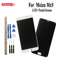 Alesser For Meizu Mx5 LCD Display Touch Screen Assembly Repair Parts 5.5 Inch Mobile Accessories+Tools For Meizu Mx5