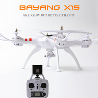 Bayang X15 Big Size Barometer Rc Quadcopter Drone Helicopter 2MP 4K Wifi FPV Camera Air Pressure