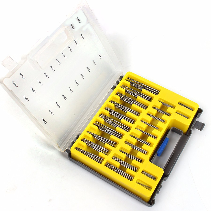 0.4mm-3.2mm 150Pcs Mini Twist Drill Bit Kit HSS Micro Precision Twist - Broca - foto 5