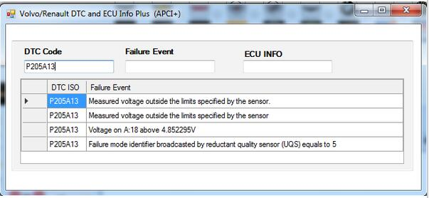 For Volvo \ Renault DTC (Fault Code) and ECU Info Plus (APCI+) Tool on  Aliexpress com | Alibaba Group