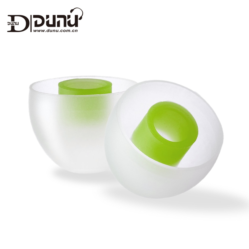 Dunu spinfit cp145 cp 145 patenteado silicone eartips para substituição 4.5mm diâmetro do bocal
