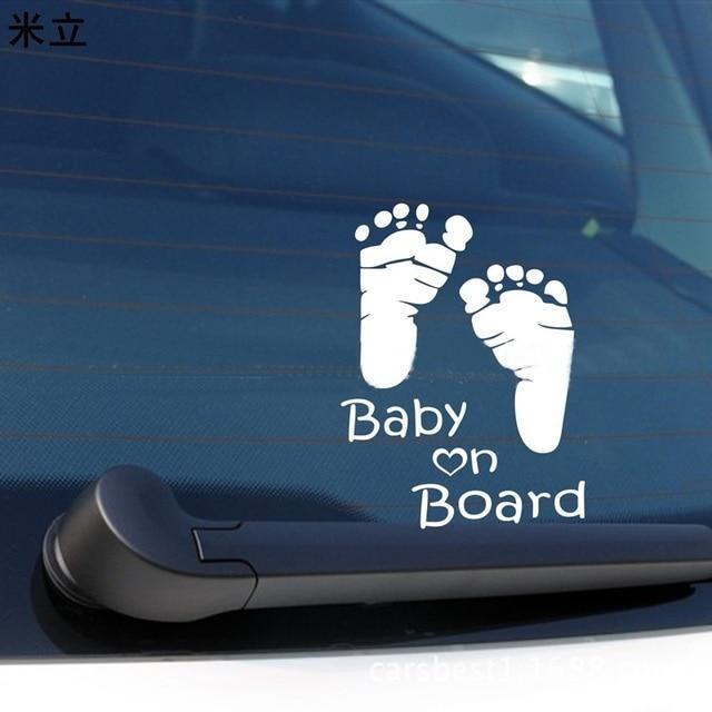 funny baby on board safty sign car sticker car motorcycle car