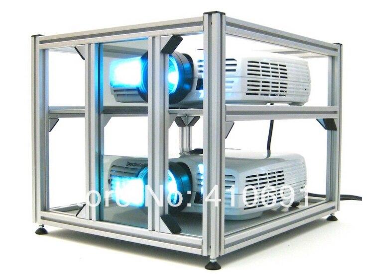1 paar / partij circulaire gepolariseerde projectie 3d-filters 15 x - Draagbare audio en video - Foto 3
