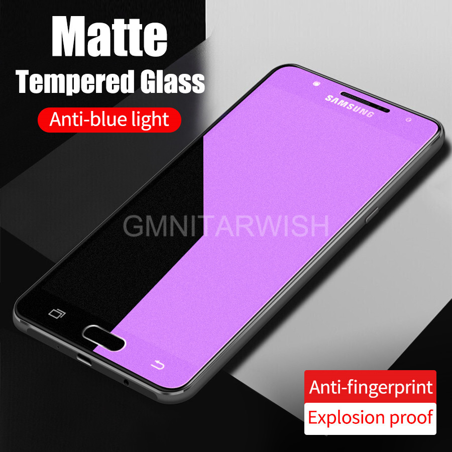 Tempered-Glass Frosted Blue-Light Purple A80 Samsung Galaxy Matte A50 for M10 M20 S10e/A10/A20/..