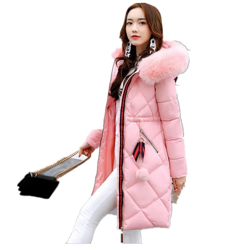 Hot!New Winter jacket women 2017 Fashion Women coat thick hoody winter coat slim women   parka   warm womens jackets k007