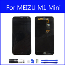 Original LCD For MEIZU M1 Display Screen Digitizer Touch Screen Meiblue M1 Glass Panel 5 Inch Replacement FreeTools