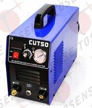 Freies verschiffen Neue Plasma-schneidemaschine CUT50 220 V spannung 50A Plasma Cutter Mit PT31 Freies Schweißen Zubehör