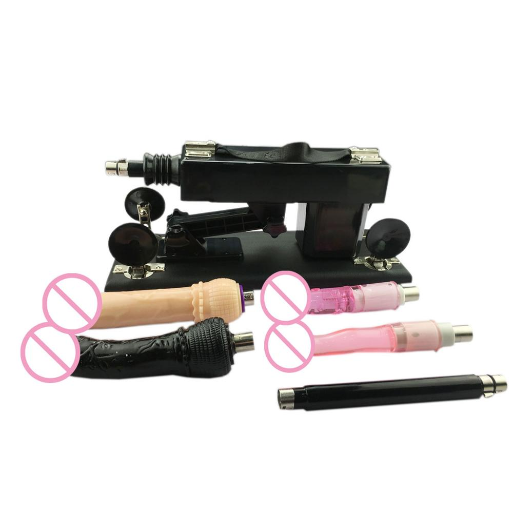 FREDORCH A2 Sex Machine Vibrator Sex Product Toys For Adults Female Masturbation Pumping Gun with 4 Dildos Attachment AutomaticFREDORCH A2 Sex Machine Vibrator Sex Product Toys For Adults Female Masturbation Pumping Gun with 4 Dildos Attachment Automatic