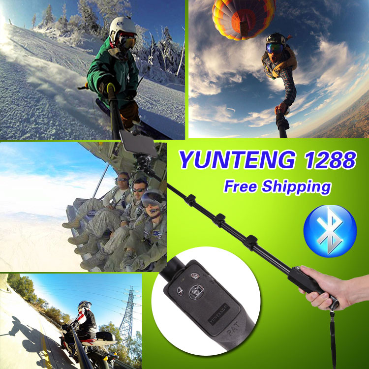 Original YUNTENG Bluetooth Remote Control Wireless Self Stick 50 Monopod For HTC One M8 M10 For